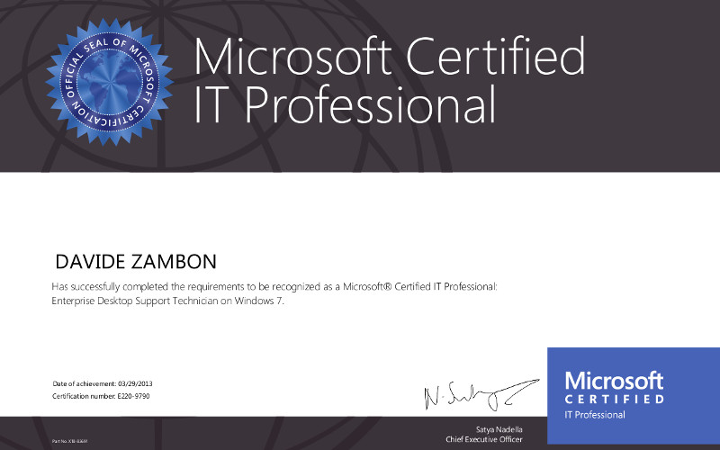 Microsoft Certified It Professional 1 800x500